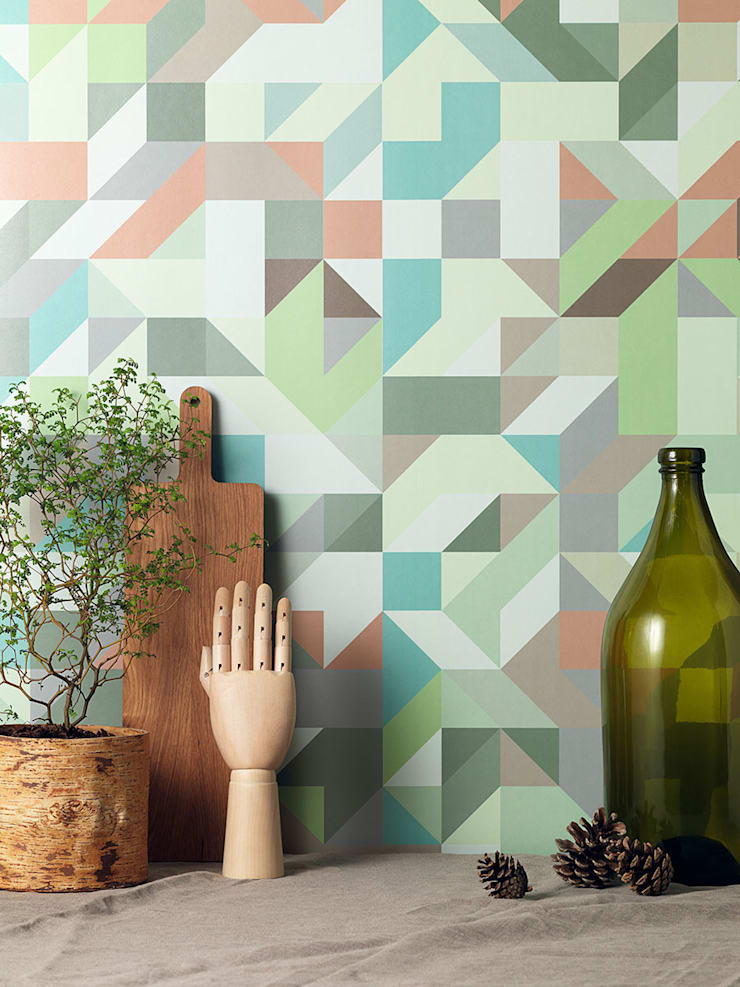 Mr perswall—Temperature Wallpaper Collection:  Walls & flooring by Form Us With Love