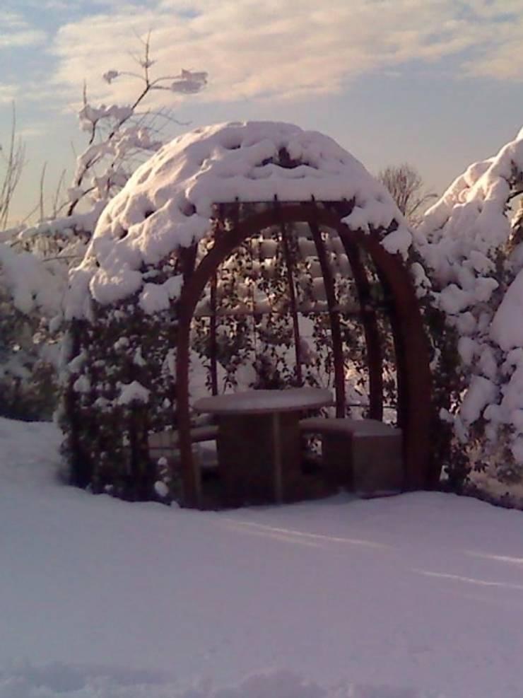 gazebo: Giardino in stile  di CHRISTIAN THEILL DESIGN