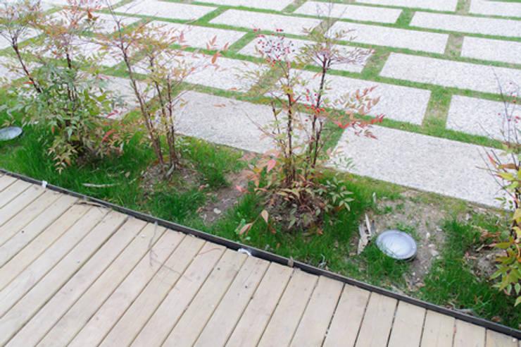 casa di luca: Giardino in stile  di Clinicaurbana