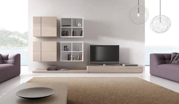 Living room by DESIGNA STUDIO