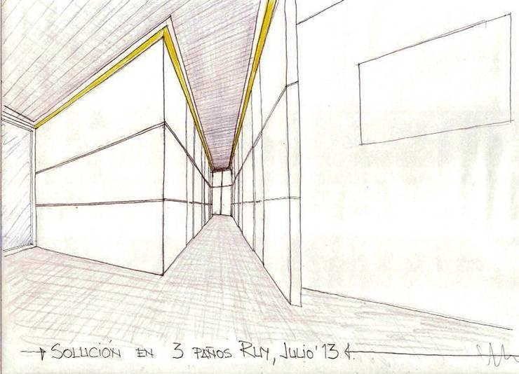 CLINICA DENTAL:  de estilo  de ROVEL CONSTRUCCIONES