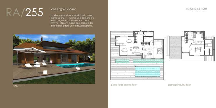 BioEdilizia - Lake Maggiore Home: Case in stile  di STUDIO RANDETTI - PROGETTAZIONE E DESIGN