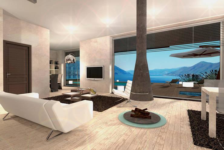 Houses by STUDIO RANDETTI - PROGETTAZIONE E DESIGN