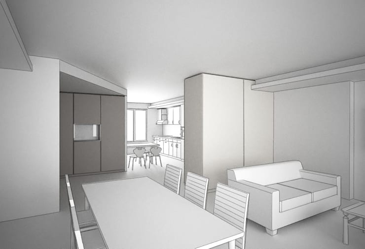 Appartement traversant:  de style  par Agence LVH