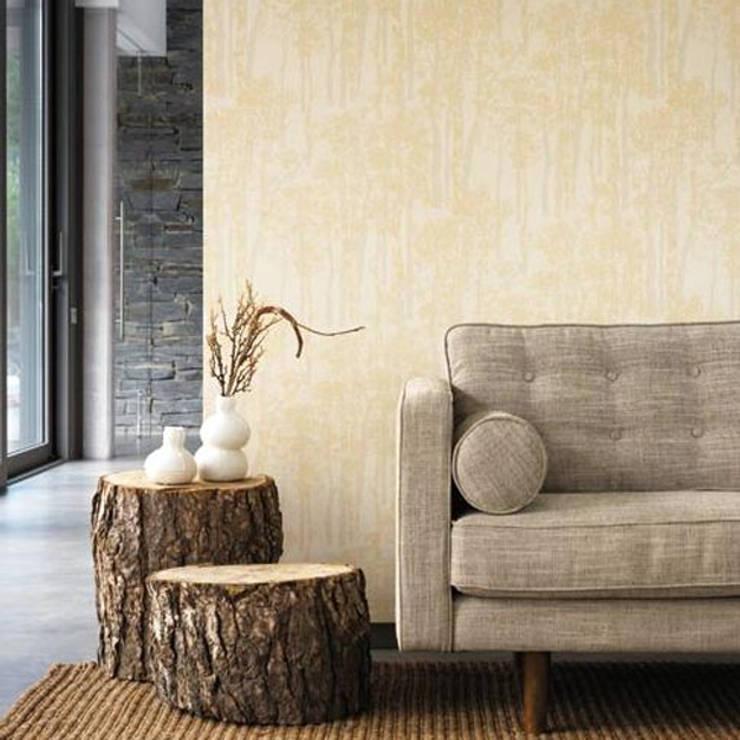 Ambiente natural con tonos neutros:  de estilo  de SERRANOS Studio