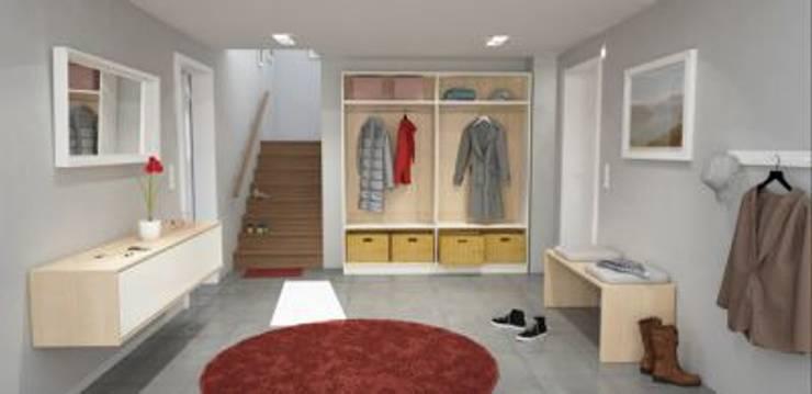 Schränke nach Maß für den Eingangsbereich:  Flur & Diele von deinSchrank.de GmbH