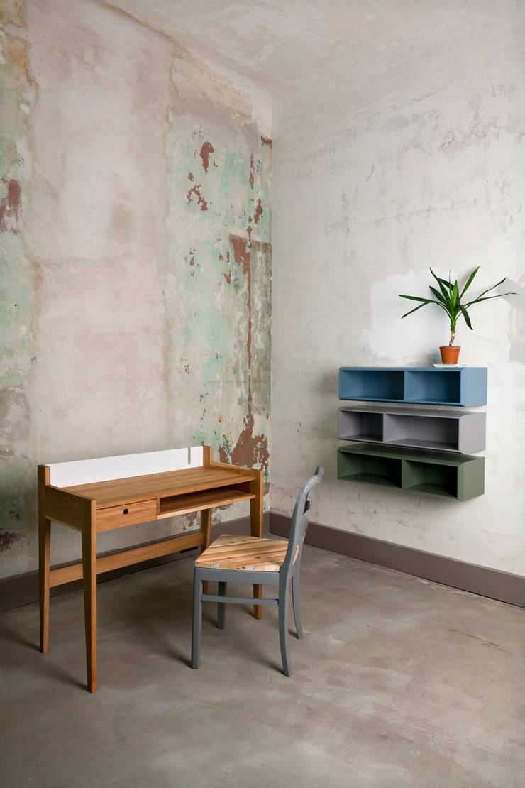 work desk/studio ziben: modern  von Studio Ziben,Modern