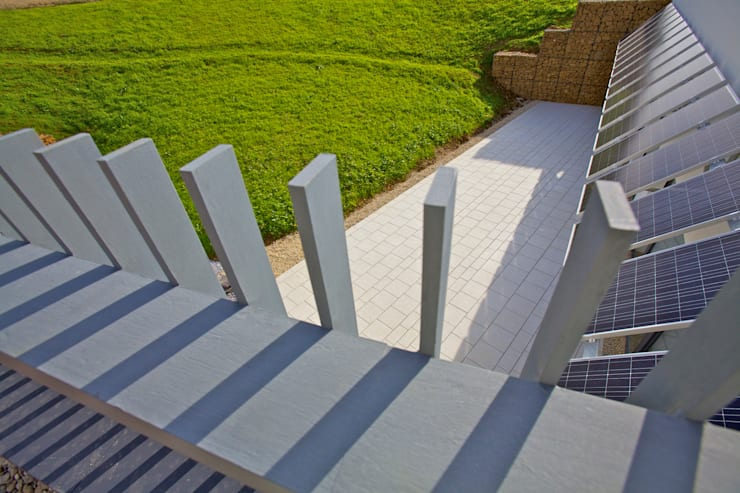 Underhill House PPS7:  Terrace by Seymour-Smith Architects