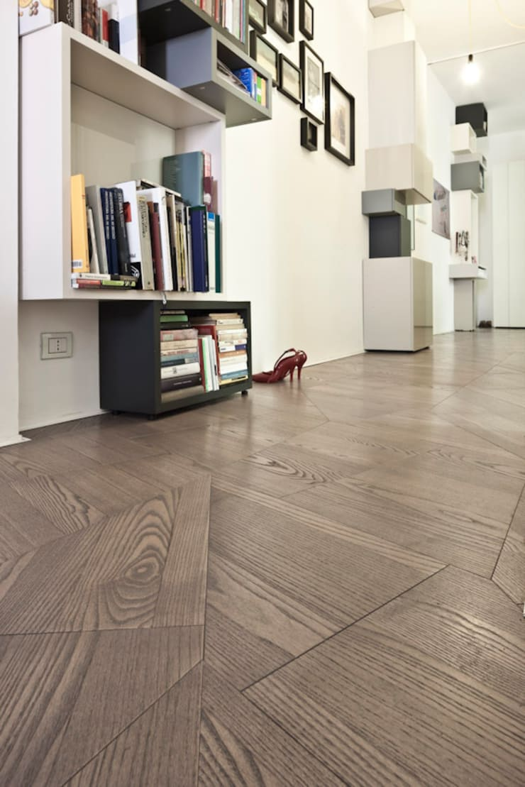 Slide Flooring From Listoen Giordano:  Walls & flooring by tuttoparquet