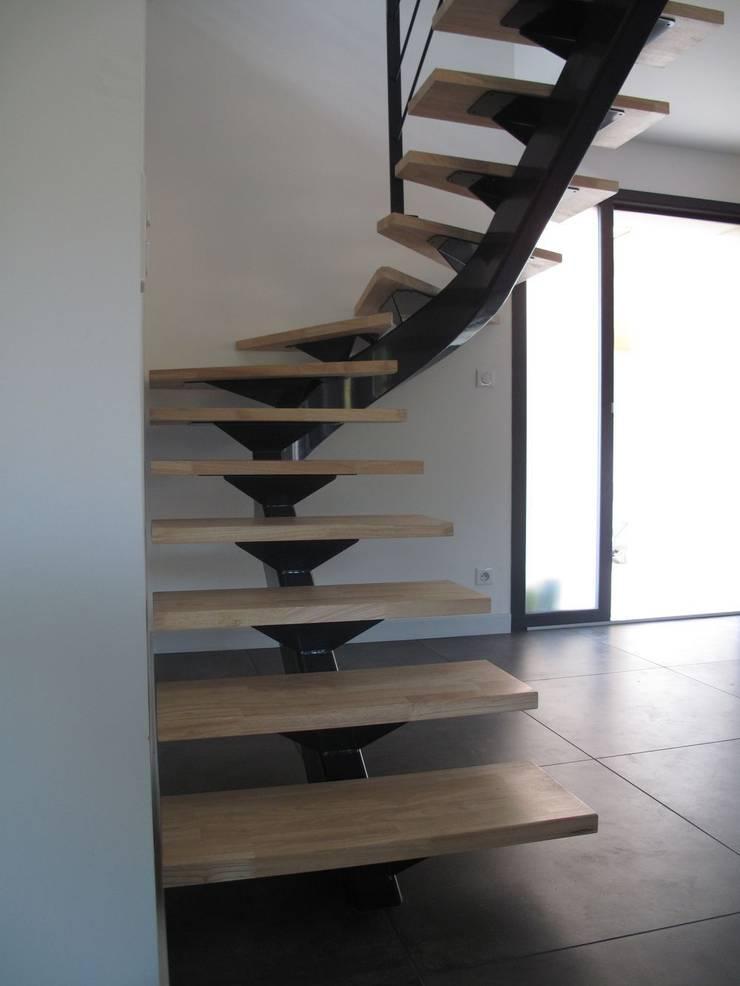 Escalier Metallique Design Par Lbms Fabrice Lamouille Homify
