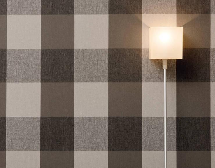 Salon Elegance 2: Paredes y suelos de estilo  de Disbar Papeles Pintados