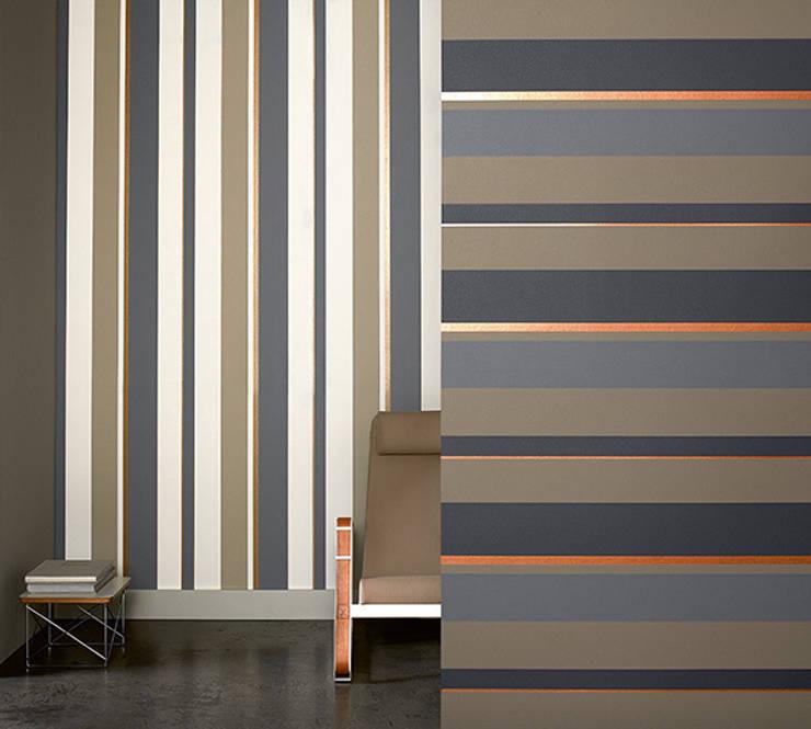Salon My Home by Raffi: Paredes y suelos de estilo  de Disbar Papeles Pintados