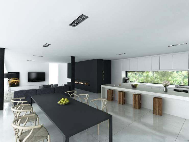 Maisons de style  par DUE Architecture & Design,