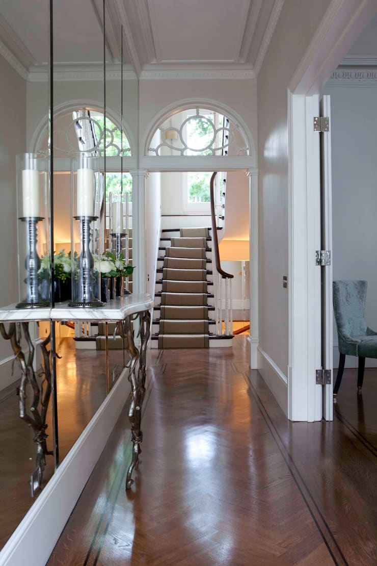 Entrance Hall:   by Siobhan Loates Design Ltd