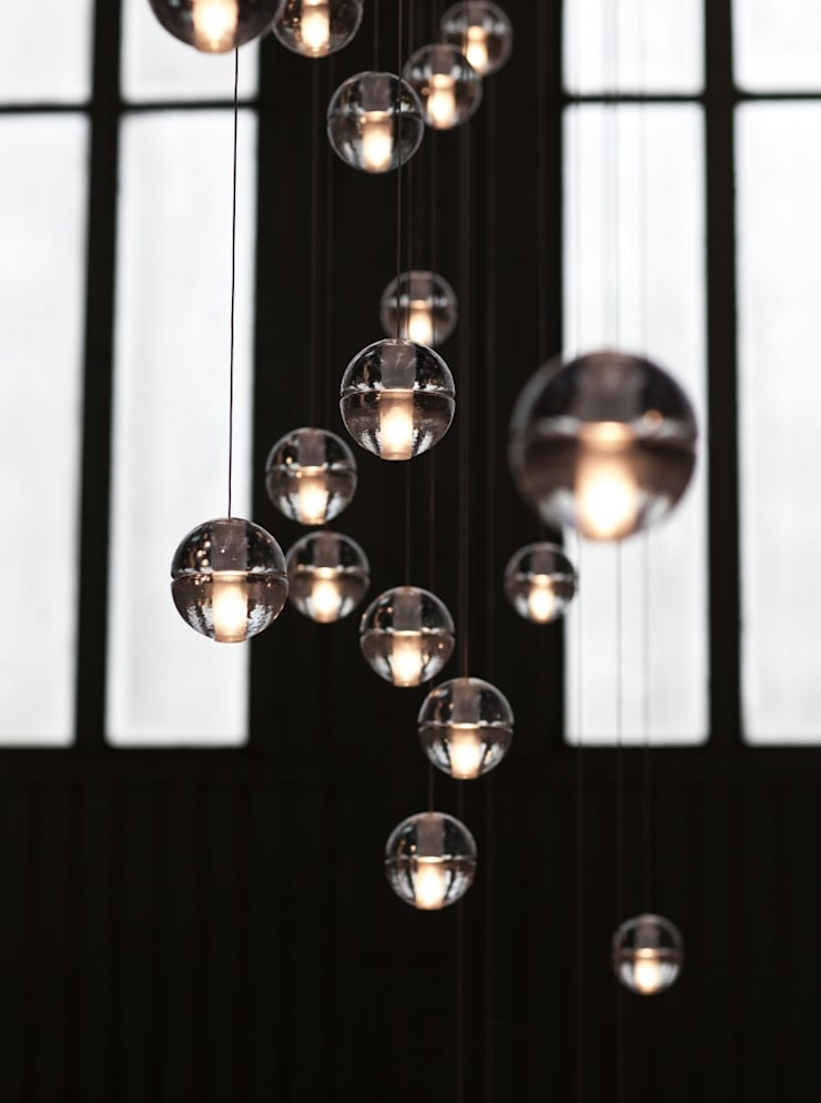 Bocci Products:  Living room by Future Light Design