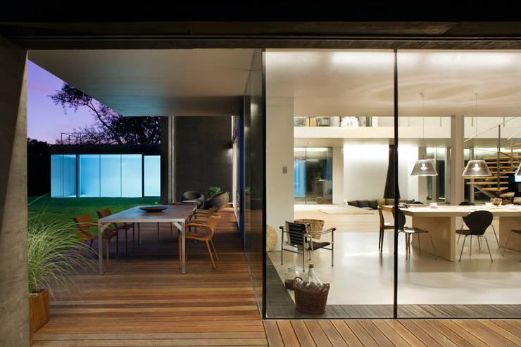 Terrasse von KWK Promes,