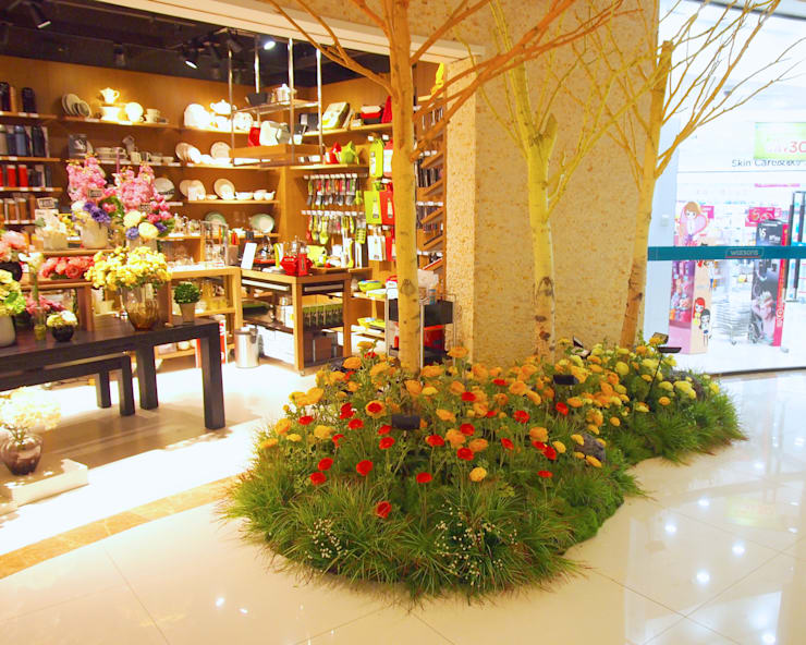 Offices & stores by (uncommon) landscape consultants