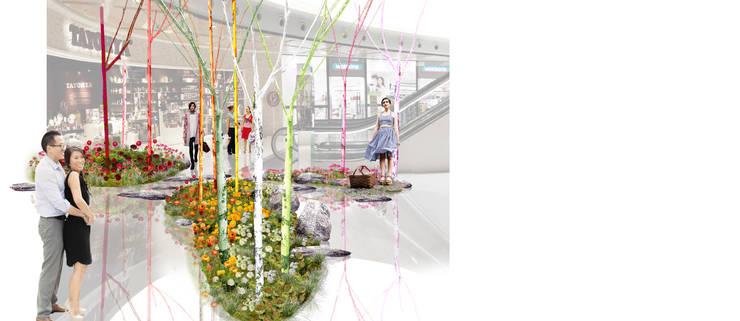 Oficinas y tiendas de estilo  por (uncommon) landscape consultants