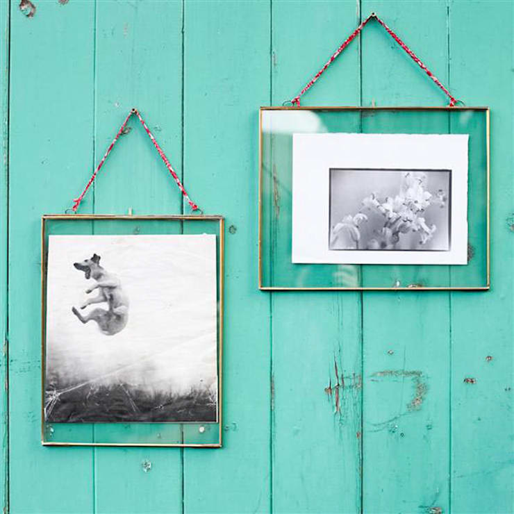 Large Hanging Glass Frames:  Household by Loop the Loop
