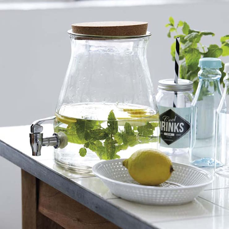 Homemade Juice Jar:   by Loop the Loop