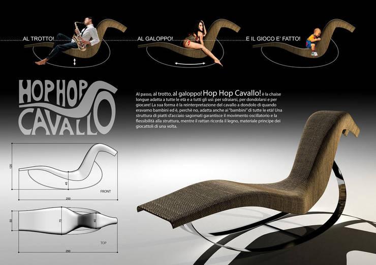 Il concept: Giardino in stile in stile Eclettico di Marco Braccini Architetto