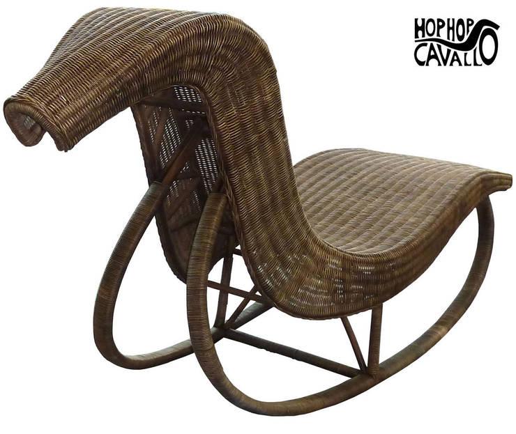 Prototipo in rattan: Giardino in stile in stile Eclettico di Marco Braccini Architetto