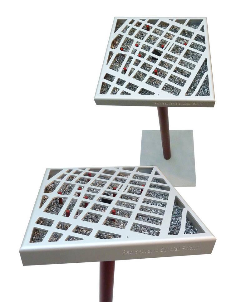 Teseo city: Giardino in stile  di Marco Braccini Architetto,