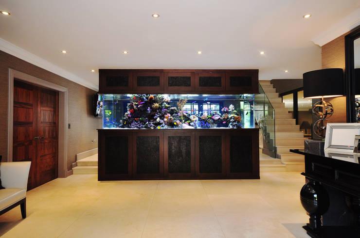 Salon de style de style Moderne par Aquarium Architecture