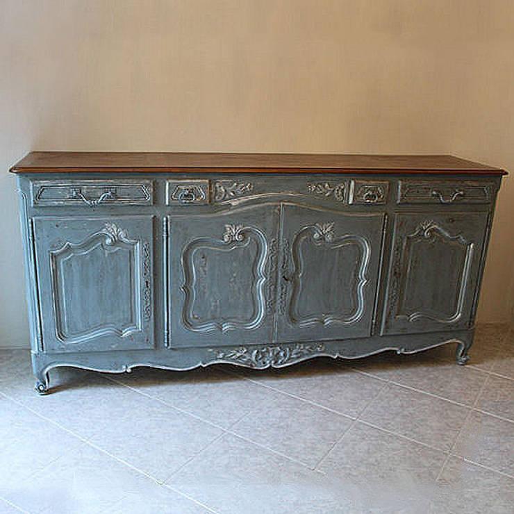 Credenza Francese in stile Luigi XV decorata e rifinita a mano von ...