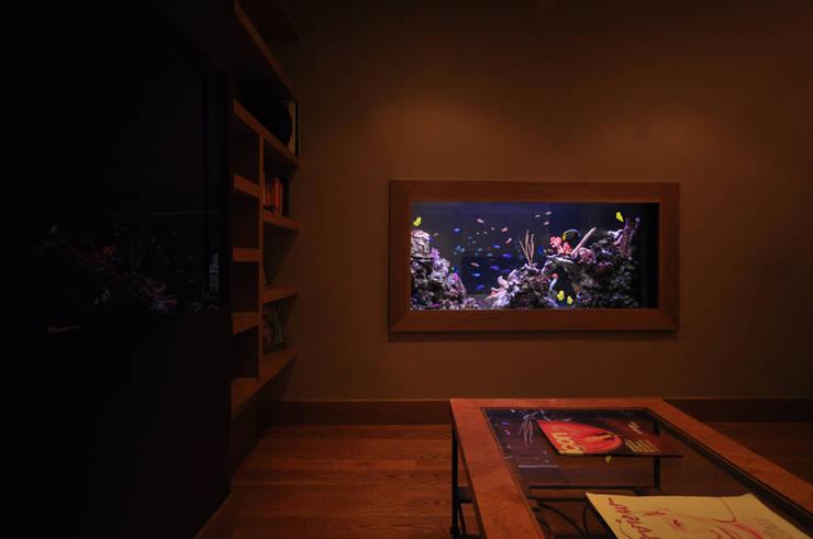 Aquarium Architectureが手掛けたリビング