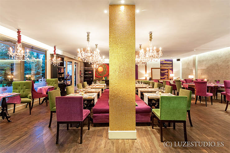 Restaurante Sita:  de estilo  de Luzestudio Fotografía