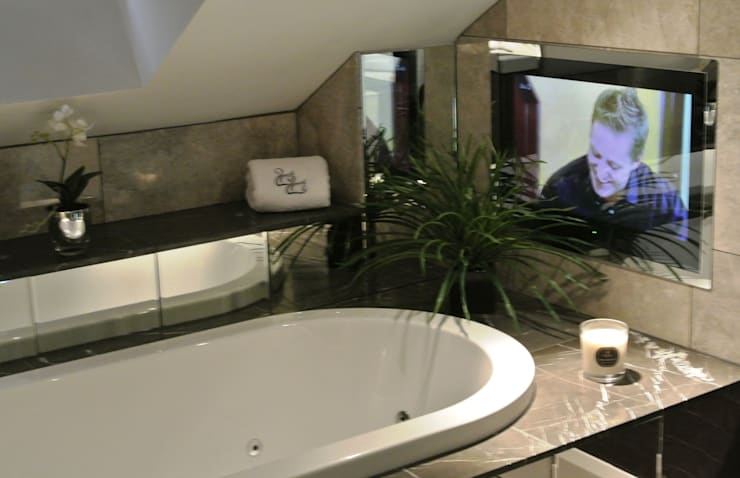 Bathroom TV:   by Inspire Audio Visual