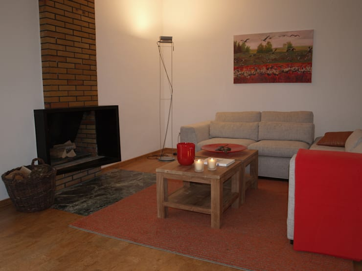 Exclusives Einfamilienhaus in Geisweid:  Wohnzimmer von Raumpraesenz-Homestaging