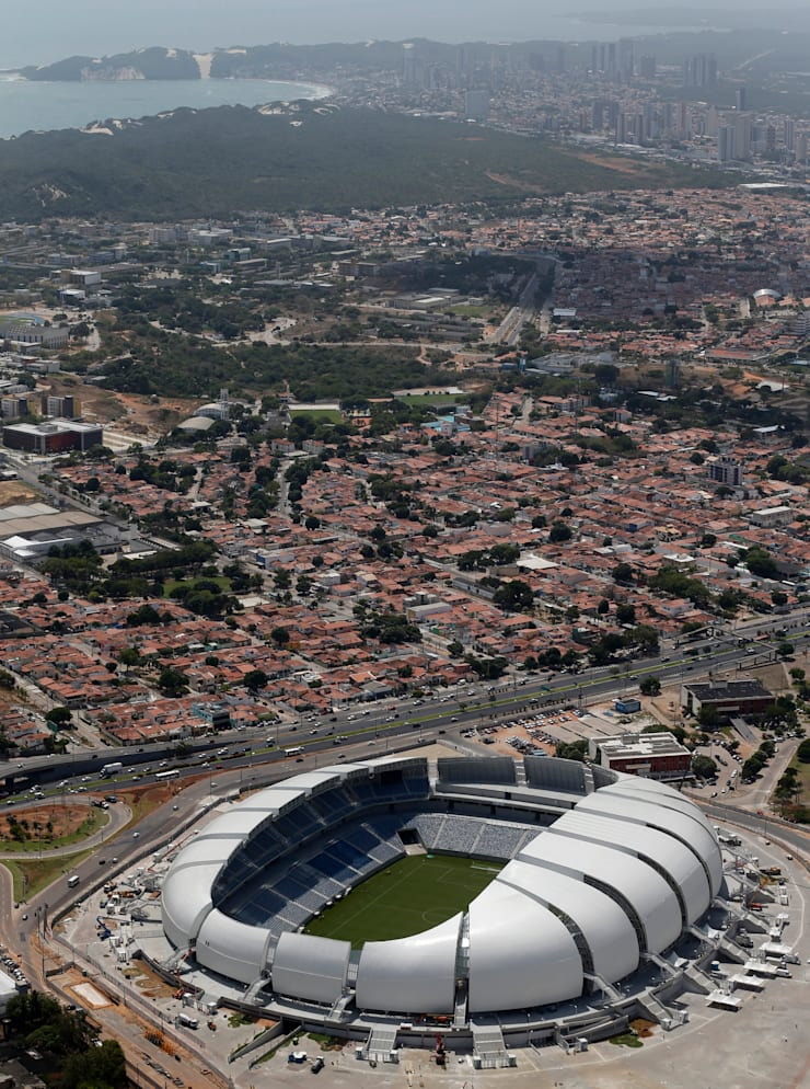 World Cup 2014 Arena das Dunas in Natal:  Stadiums by Populous