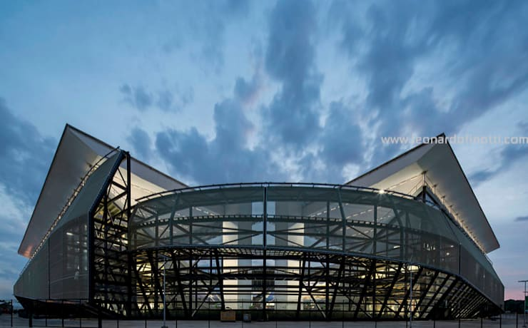 Stadi in stile  di GCP Arquitetura & Urbanismo