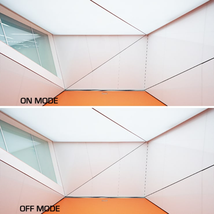 Centro de Telecomunicaciones y Tecnologías de la Información (Barcelona): Edificios de oficinas de estilo  de Vidrios de privacidad