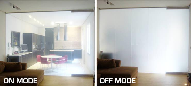 Residencias privadas: Casas de estilo  de Vidrios de privacidad