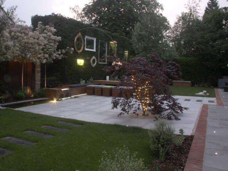 Сады в . Автор – Cool Gardens Landscaping