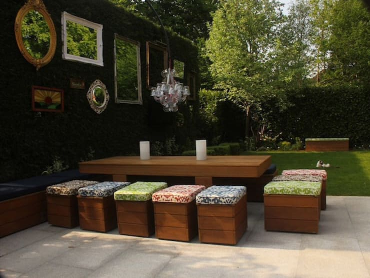 Jardins modernos por Cool Gardens Landscaping