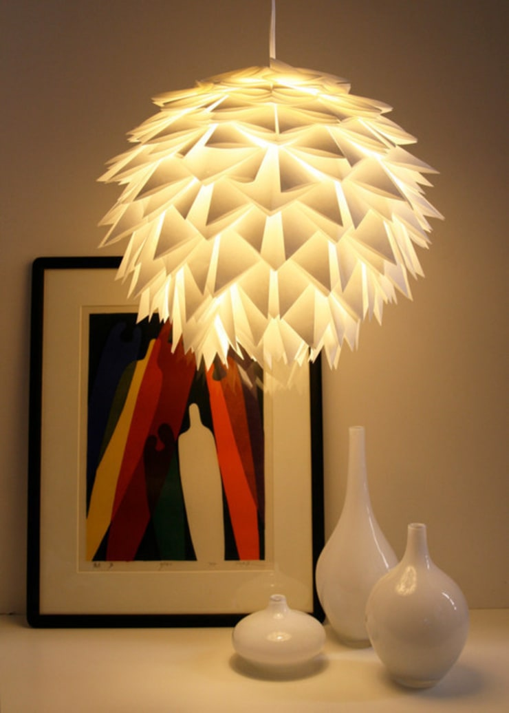 Old Coronet Projects:  Living room by Coronet Lighting Ltd
