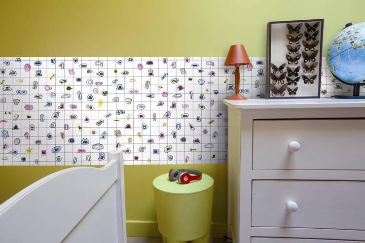 Picto-Picoti-Paysage. Papel para dibujar y colorear: Habitaciones infantiles de estilo  de Desdelfaro S.L.