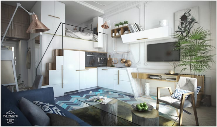 ausgefallene Küche von ToTaste.studio