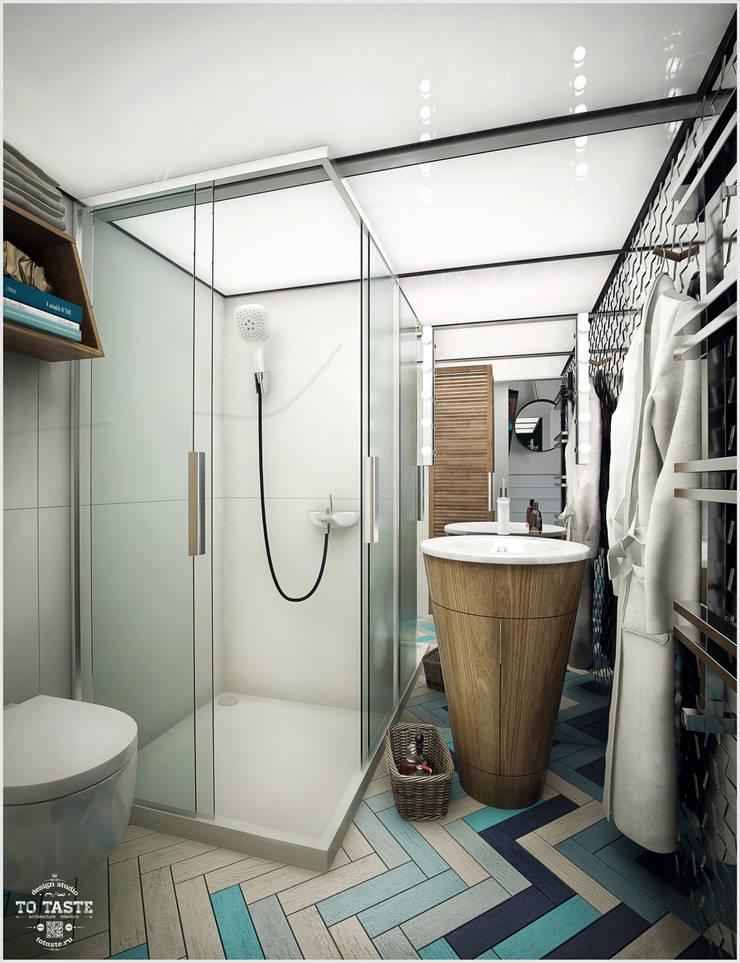 Санузел: Ванные комнаты в . Автор – ToTaste.studio