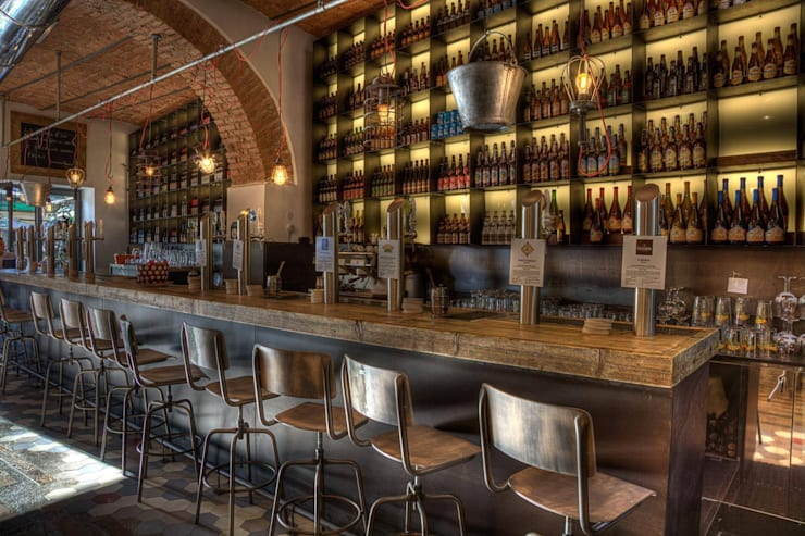 Restaurants de style  par 3 Punti Architettura