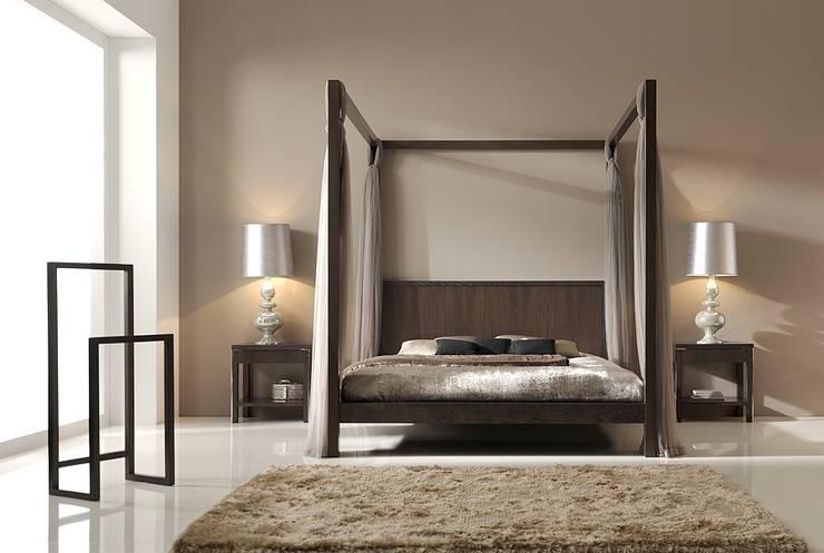 Dormitorio en Nogal Español: Dormitorios de estilo  de InterNamaste