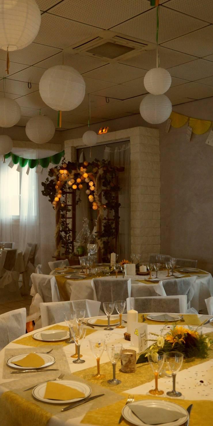Mariage en Provence thème <q>champêtre</q> juin 2014:  de style  par Nelly Pansier Décoratrice d'Intérieurs
