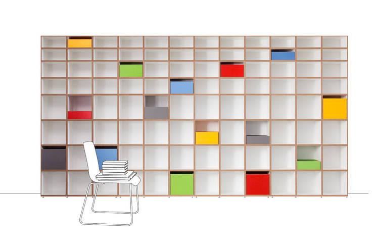 Estudio de estilo  por stocubo - Das modulare Regalsystem