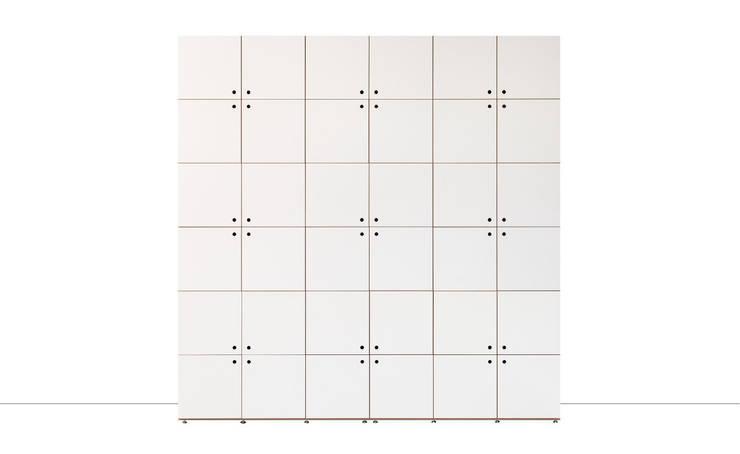 Camera da letto in stile  di stocubo - Das modulare Regalsystem
