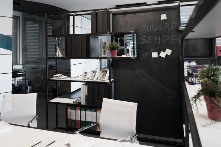 Business Center EUS: Studio in stile  di SOA Spazio Oltre l'Architettura