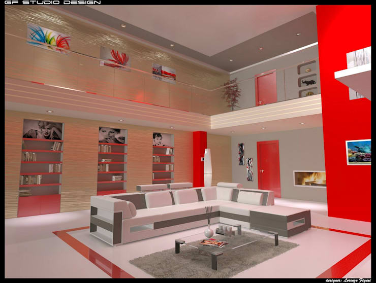 Interior Design: Case in stile  di GF Studio Design,
